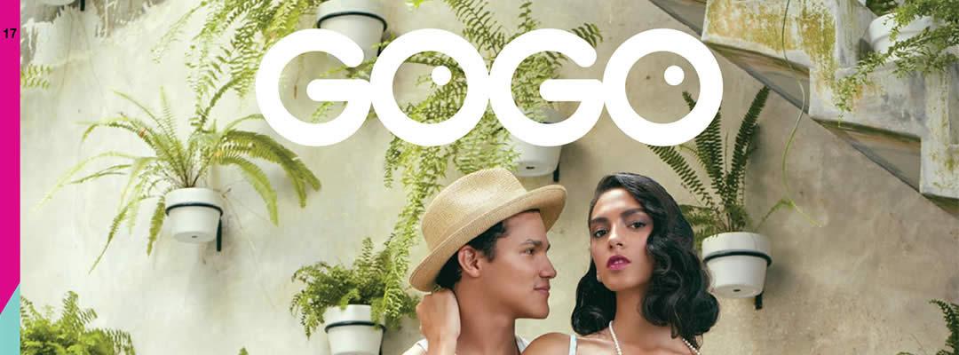 GOGO diseño de revistas