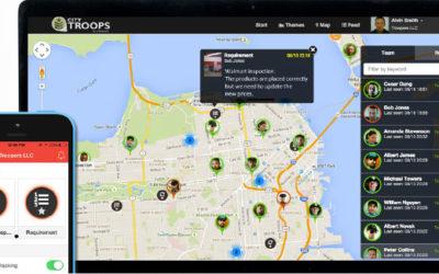 Monitorear y controlar la ubicación del personal de campo en tiempo real.  Mapear coordenadas de ubicación de equipos o activos en campo.  Recolectar y procesar información de actividades ejecutadas.