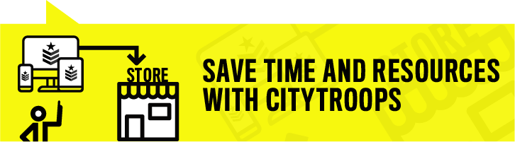 Save time and resources with CityTroops